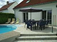 terasa u bazénu - Sedlce