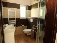 Koupelna v apartmánu,, Kohoutek,, - k pronájmu Nové Hrady