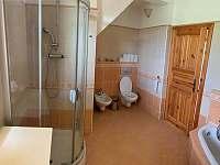 Koupelna 1 - chalupa k pronájmu Novosedly nad Nežárkou