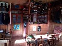 Zadní místnost pro ubytované