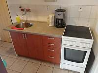 kuchyň - chata k pronájmu Pracejovice - Makarov