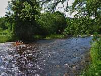 řeka Otava - Pracejovice - Makarov