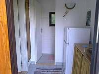 Vchod+WC - pronájem chaty Frymburk - Lojzovy Paseky
