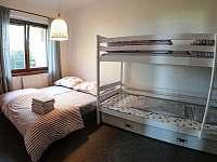 Ložnice s manželskou postelí a palandou (3lůžko) - Smrkovice u Písku