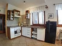 Plně vybavená kuchyň - apartmán k pronájmu Smrkovice u Písku