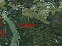 Umístění chaty - mapa - k pronajmutí Hamr - Kosky