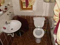WC - Chata U Čápa - ubytování Hamr - Kosky