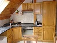 Pohled do kuchyňě pro hosty - ubytování Třeboň