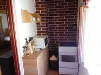 Kuchyně - chata k pronajmutí Zárybničná Lhota