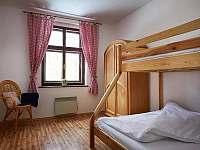 Malá ložnice s palandou