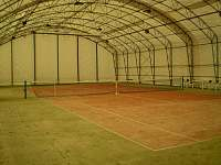 tenisová hala, bechyně