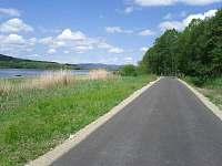 Cyklostezka - Horní Planá (2km), začíná přímo u chaty