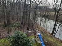 pohled na řeku II. - chata k pronájmu Lužnice