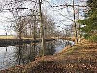 řeka Lužnice - pronájem chaty