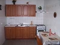 Chalupa Hluboká u Borovan - kuchyně