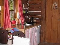 Kuchyňská linka - srub ubytování Staňkov