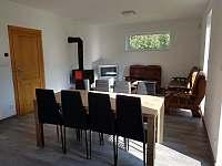 Obývací pokoj - chalupa ubytování Lužnice