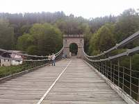 Řetězový most, Stádlecký