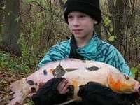 úlovky na rybníku Amerika - chata k pronájmu Kunžak