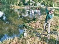 rybaření na rybníku Amerika - Kunžak