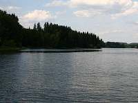 rybník Komorník 60 ha - chata ubytování Kunžak