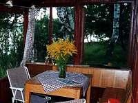 pohled z verandy