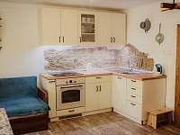Kuchyně - chalupa k pronájmu Krejčovice