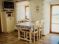 Kuchyně - pronájem chalupy Krejčovice