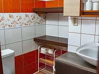 koupelna - pronájem chalupy Plavsko