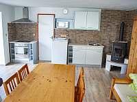 kuchyň - chalupa ubytování Plavsko