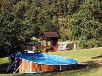 Chata k pronajmutí - dovolená Bazén Tábor rekreace Bečice