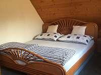 Ložnice v podkroví - chata k pronájmu Dolní Vltavice
