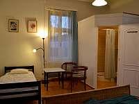 Apartmán č.1 v přízemí, s kuchyňkou a koupelnou s WC - chalupa k pronájmu Bavorov