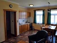 Apartmán, kuchyně - ubytování Dubí Hora