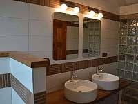 Společná koupelna u pokojů - Dubí Hora