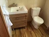 Koupelna v prizemi - chata k pronajmutí Frymburk - Kovářov