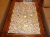 Zalaminované mapy pro hosty - Kardašova Řečice