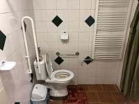 Koupelna v bezbariérovém pokoji - Jarošov nad Nežárkou