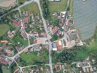 Letecký pohled na Jarošov nad Nežárkou -