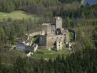 Zřícenina hradu Landštejn - Jarošov nad Nežárkou