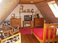 Podkrovní obývací pokoj, Tv-sat, dvojlůžko