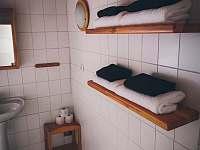Koupelny - chalupa k pronájmu Benešov nad Černou