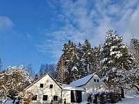 Zima_2021 - chalupa ubytování Benešov nad Černou