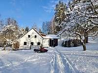 Zima_2021 - chalupa k pronajmutí Benešov nad Černou