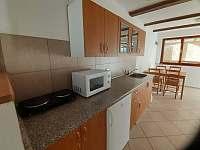 Kuchyně - chata ubytování Větřní