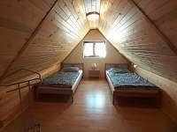 Ložnice 1 - pronájem chaty Větřní