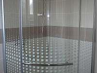 Sprchový kout - chalupa ubytování Suchdol nad Lužnicí - Hrdlořezy