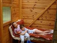 pohodička v dětské chatce