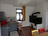 Kuchyňský kout - přízemí - chalupa ubytování Slavče