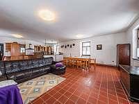 Obytná kuchyň - chalupa k pronajmutí Nová Včelnice - Brabec